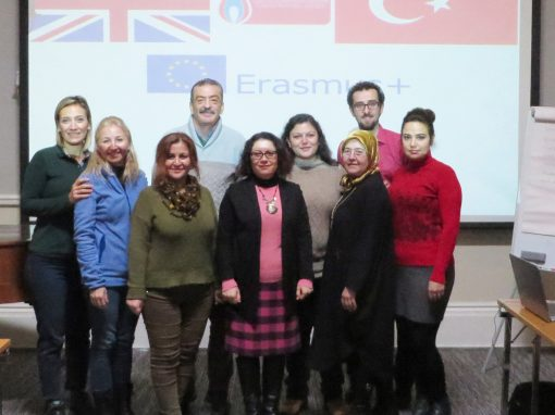 Professional development including Erasmus+